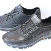 Кожаные мужские кроссовки демисезонные, 2 цвета