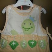 Спальный мешок для новорожденных, спальник 0-6 мес.