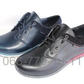 Мужские кожаные спортивные туфли, кроссовки, 2 цвета