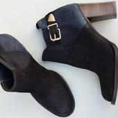 .Новые женские ботильоны,ботинки San Marina,Натуркожа,38 р