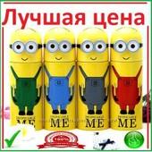 Термос детский Миньон Minions Посіпака с очками 0, 3L нержавейка арт185