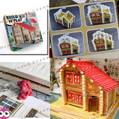 Мягкий конструктор Build'N'Play, построй дом своими руками, мягкие детали, собачка