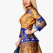 Стильное платье от ТМ Garde -Robemodern , рр 44-46