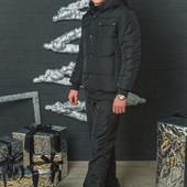 Два цвета Мужской зимний спортивный костюм горнолыжный