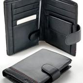 Мужской кожаный кошелек правник Boston большой натуральная кожа В наличии разные модели