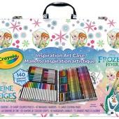 Crayola Набор холодное сердце 140 предметов в чемоде