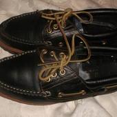 Кожаные туфли new land италия 40