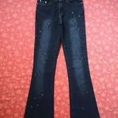размер 12 (М) Женские джинсы Parisian, б/у. Отличное состояние, без дефектов. Длина 106 см, шаговый