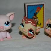 Пет шопы pet shop игрушки зоомагазин Littlest pet shop LPS разные с магнитом и без