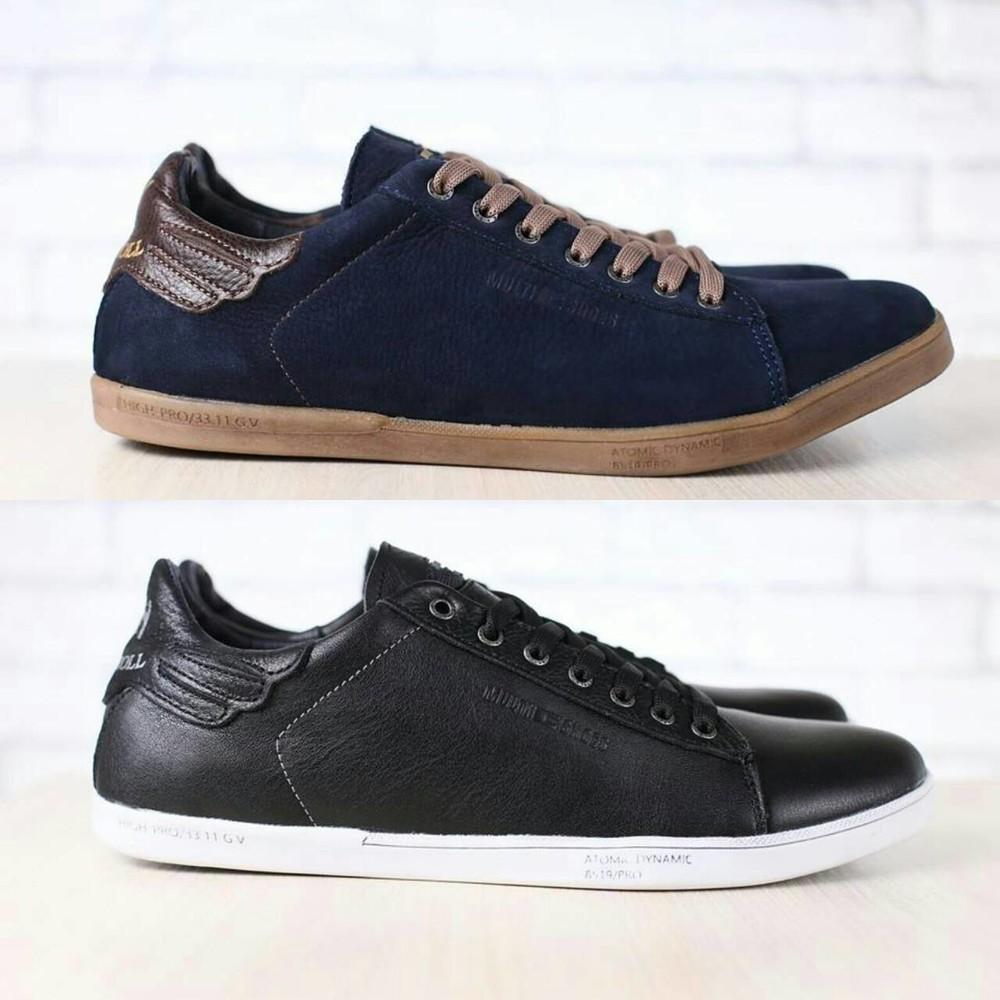 Кеды Multi Shoes кожаные, р. 44-45 код nvk-2693 фото №1