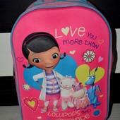 Чемодан сумка на колесиках фирменный с доктор плюшева Doc McStuffins дисней Disney