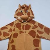 размер S, Флисовый взрослый человечек-пижама-костюм Жираф Sedarwood State, б/у. Очень хорошее состоя