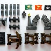 Mega Bloks набор деталей детали человечек флаг мега блокс конструктор