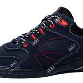 Мужские яркие кроссовки демисезонные (СКР-10сн)