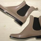 Ботинки, туфли челси, chelsea boot 38,5  стелька 25 см, италия