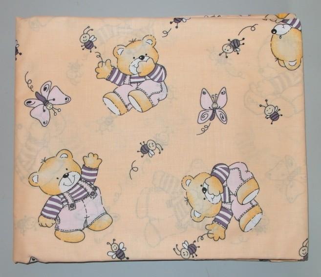 Детское постельное белье в кроватку бязь фото №1