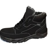 Зимние мужские ботинки отличного качества (СБ-06)
