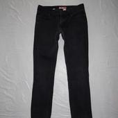 XS, поб 42-44, укороченные! узкачи джинсы скинни H&M