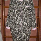 Пижама флисовая, размер ХL рост до 178 см