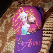 Кепка Frozen Disney Холодное сердце. Размер 50-52