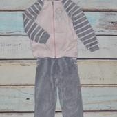 Велюровый спортивный костюм ТМ Модный карапуз