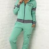 Размеры 42-48 Стильный женский спортивный костюм