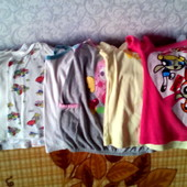 Майки и футболки для девочки 4-5 лет. Торг