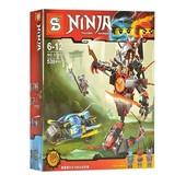 Конструктор Sy 857 Ninja Ниндзяго Железные удары судьбы или Битва с демоном 530 дет