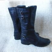 Gabor р.37-37.5 сапоги ботинки шкіряні