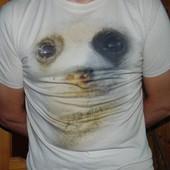 Стильная брендовая футболка Bhs (Би-Эйч-Эс).м- л.