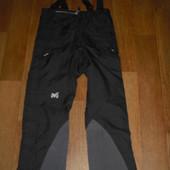 Мужские туристические штаны-самосбросы Millet мембрана Gore- tex размер L