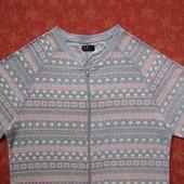 размер 12-14 (M), Женский флисовый человечек-пижама, F&F, б/у.