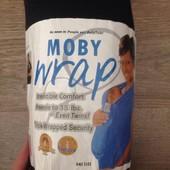 Слинг переноска Moby Wrap - для переноса новорожденных и малышей