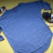 Стильная кофта,свитер,реглан с замком на спинке,Select,р.14,новое состояние