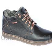 Мужские зимние ботинки, натуральная кожа