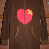 Пижама флисовая на 12-13лет,рост до 152 см