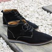 Ботинки натуральная замша Т27-1