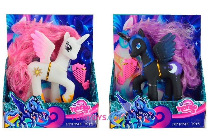 Игровой набор пони с аксессуарами my little pony sm7008 фото №1