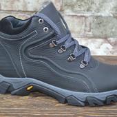 Зимние кожаные мужские ботинки Vaslav