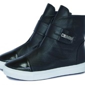 Зимние модные ботинки! Натуральная кожа!!