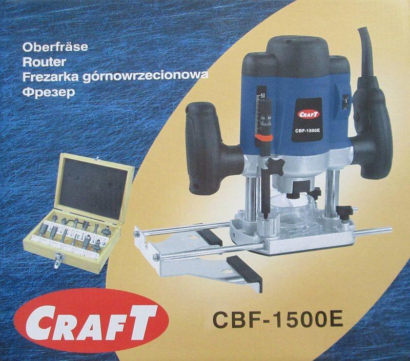 Фрезер craft cbf-1500e фото №1