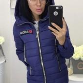 Размеры 42-54 Теплая демисезонная женская куртка