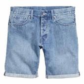 джинсовые шорты H&M, р29