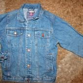 Пиджак джинсовый на мальчика 134-140 р