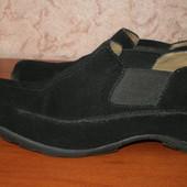 Туфли, лоферы, натуральная замша, 38р. стелька 24,5см.