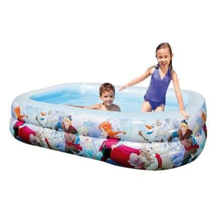 Надувной бассейн intex холодное сердце 58469 фото №1