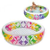 Детский надувной бассейн Intex 56494 Колесо