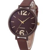 Женские наручные часы коричневые (ч-6)