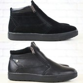 Ботинки Multi Shoes на меху из натур. кожи, замши р. 40-45, код nvk-2812