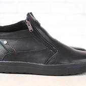 Ботинки Multi Shoes на меху из натур. кожи, замши р. 45, код nvk-2812
